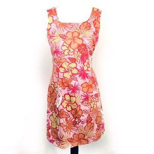 Lilly Pulitzer | Floral Pink Vintage Dress (F04)